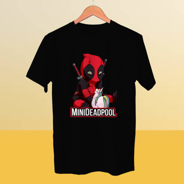 Camiseta mini Deadpool