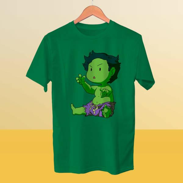 Camiseta mini Hulk