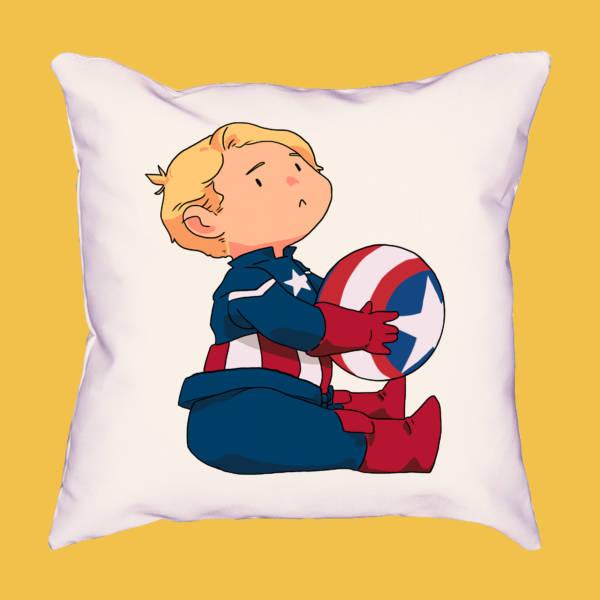 Cojín mini Capitán América