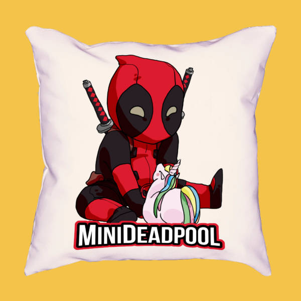 Cojín mini Deadpool