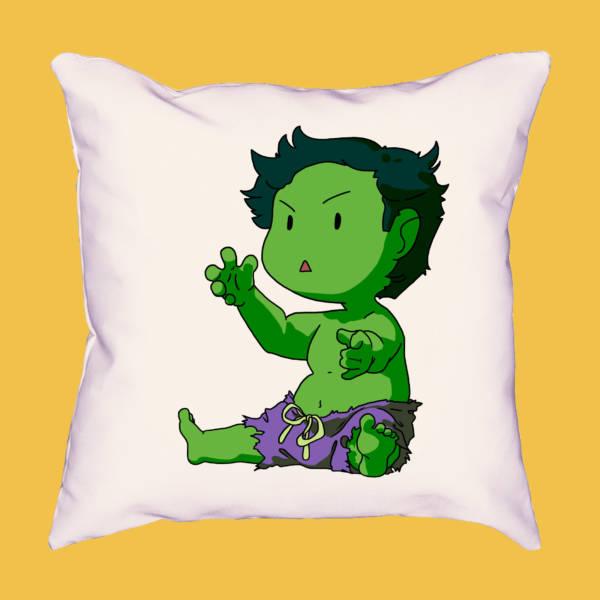 Cojín mini Hulk