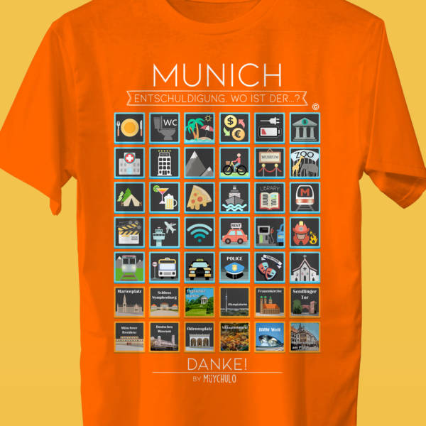 MUNICH Camiseta Viajeros