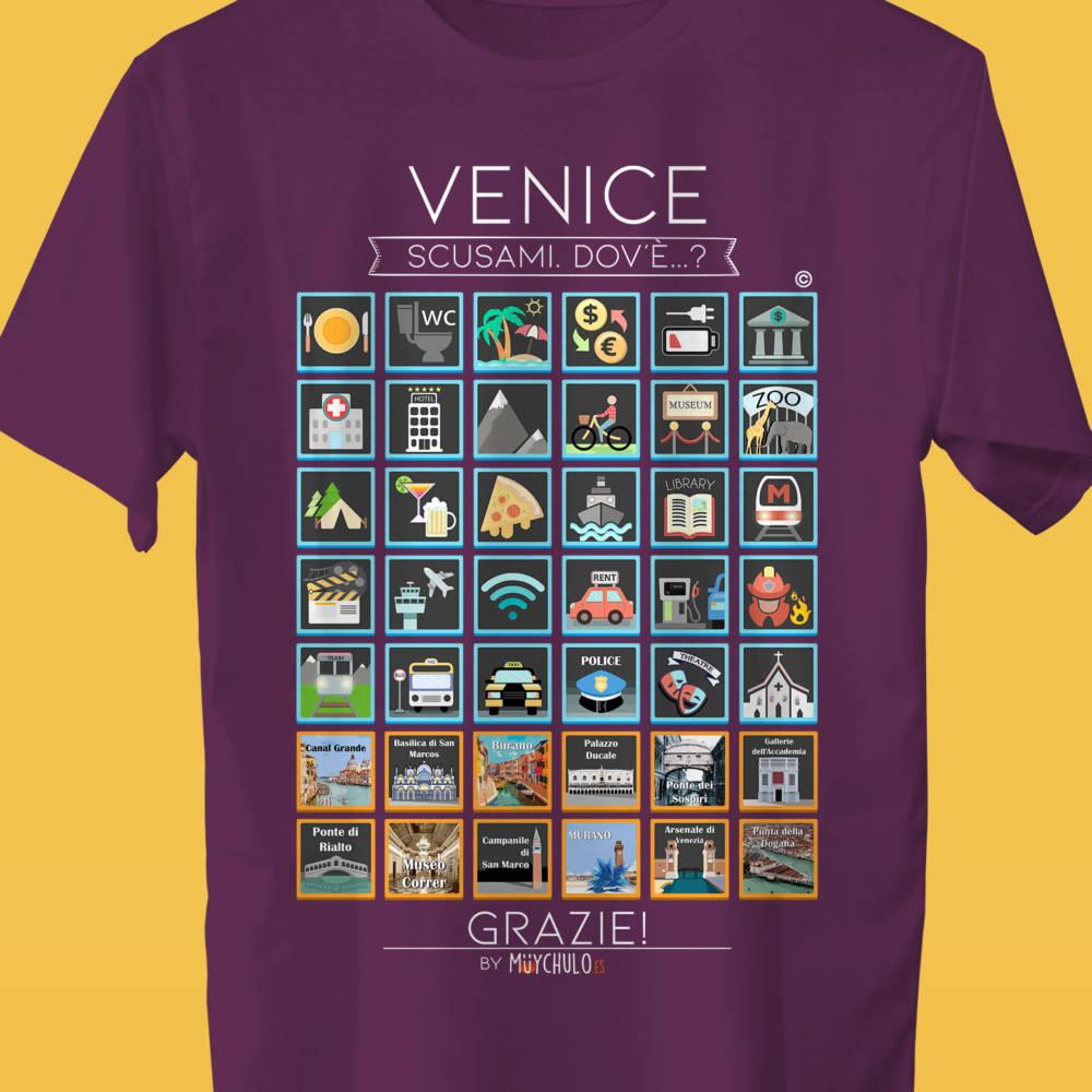 VENECIA Camiseta Viajeros