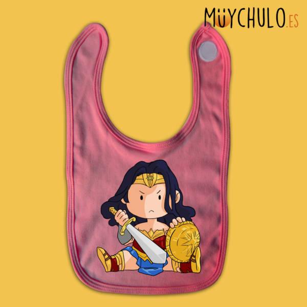 Babero mini Wonder Woman