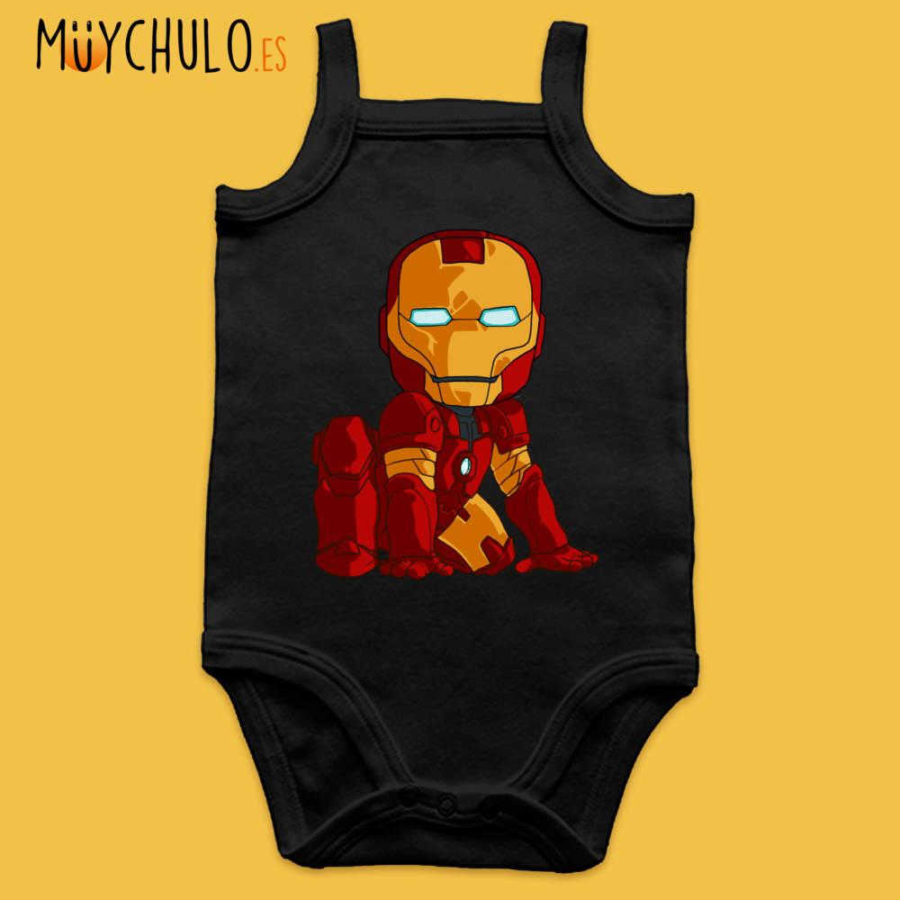 Body de tirantes mini Iron Man