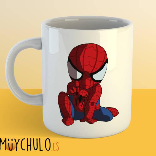 Taza mini Spiderman