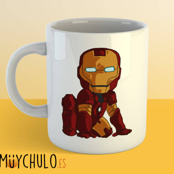 Taza mini Iron Man