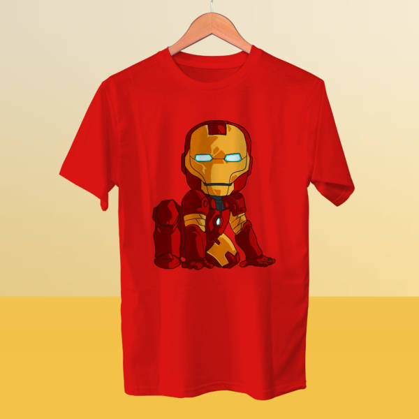 Camiseta mini Iron Man