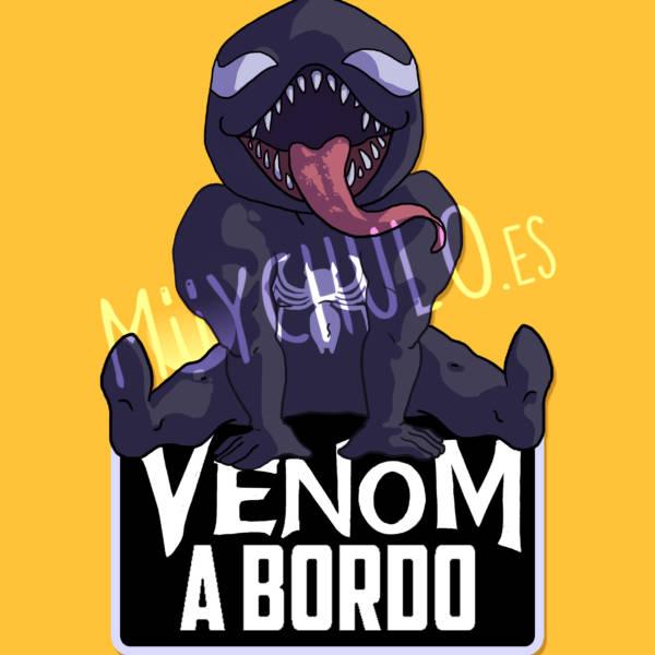 Pegatina Venom VENOM A BORDO