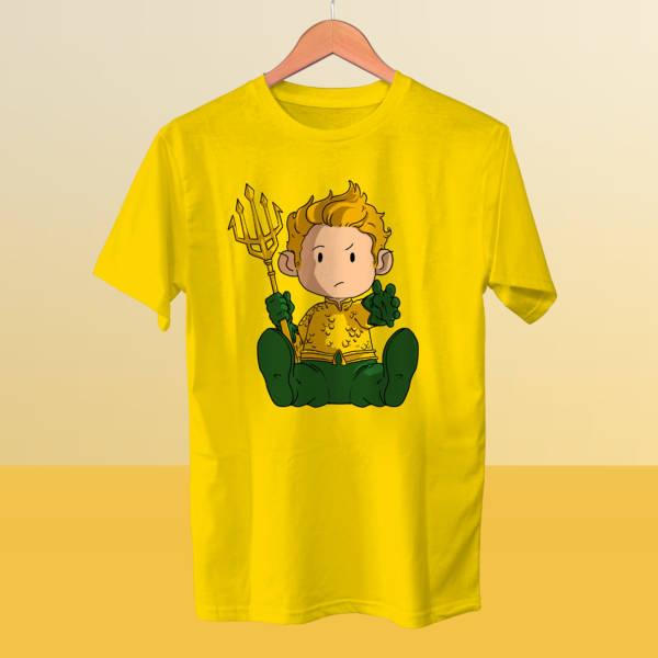 Camiseta mini Aquaman