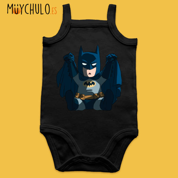 Body de tirantes mini Batman