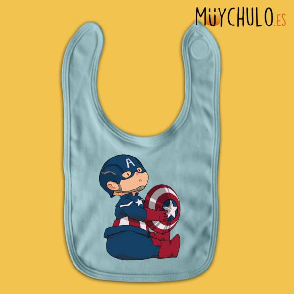 Babero mini Capitán América 2