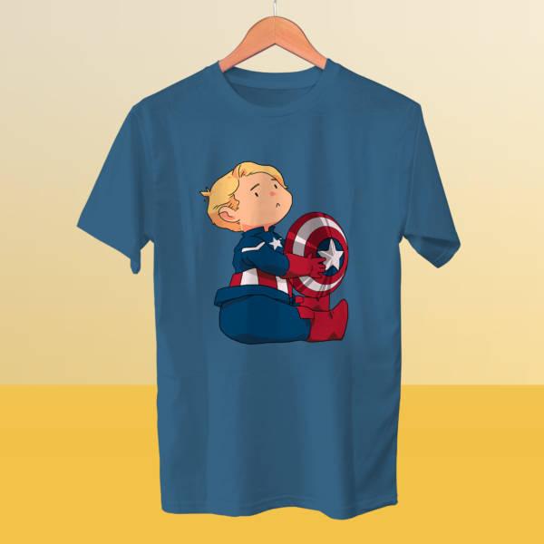 Camiseta mini Capitán América 2