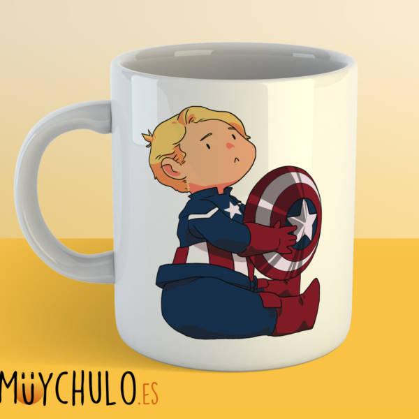 Taza mini Capitán América 2