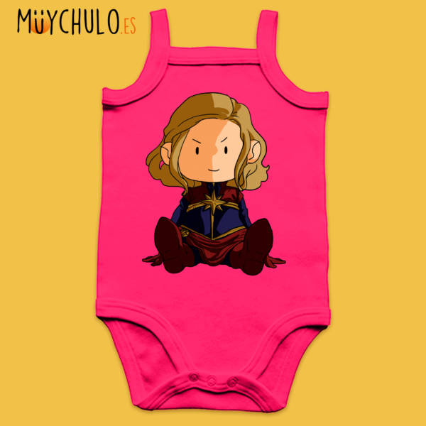 Body de tirantes mini Capitana Marvel