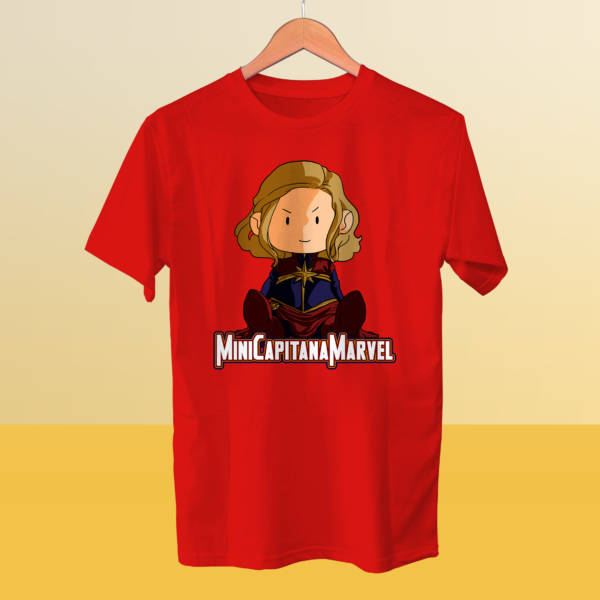 Camiseta miniCapitanaMarvel