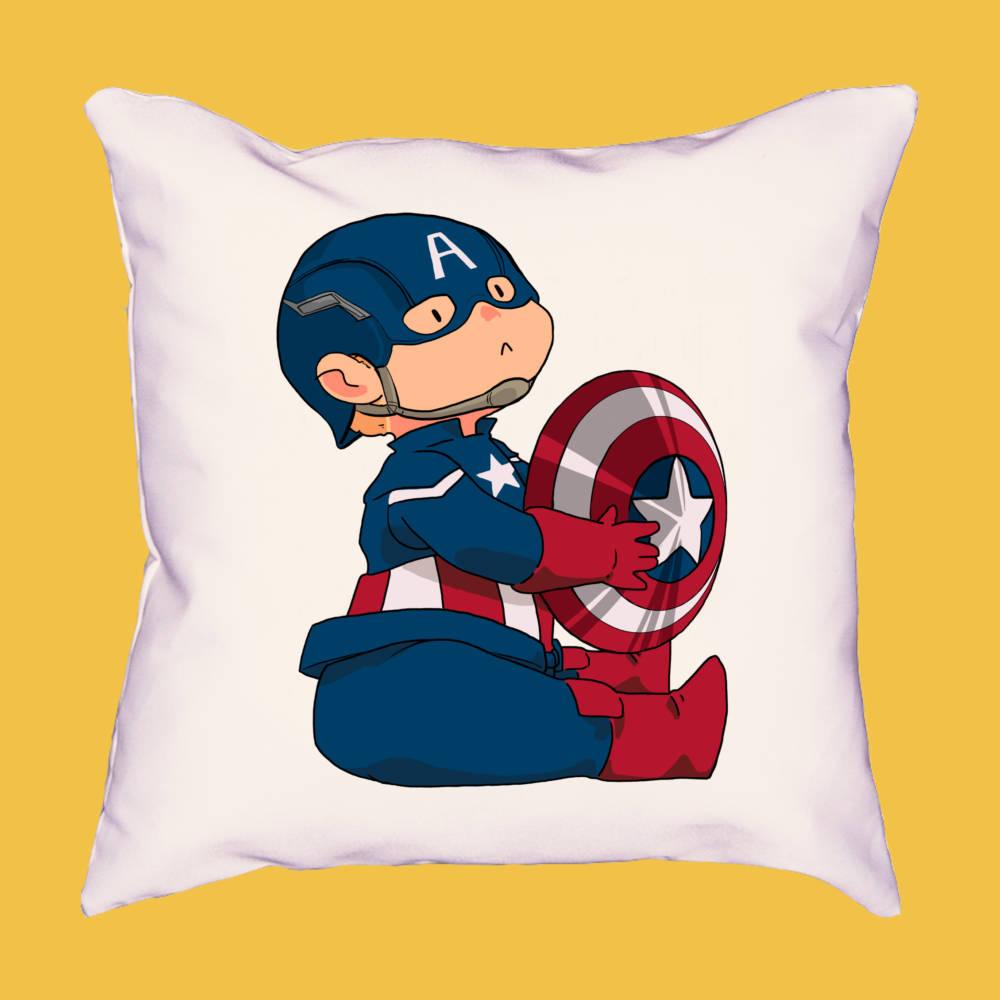 Cojín mini Capitán América 2