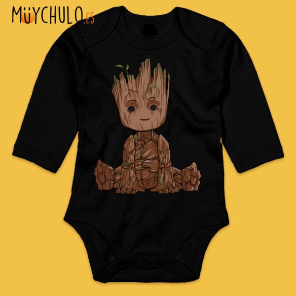 Body manga larga mini Groot