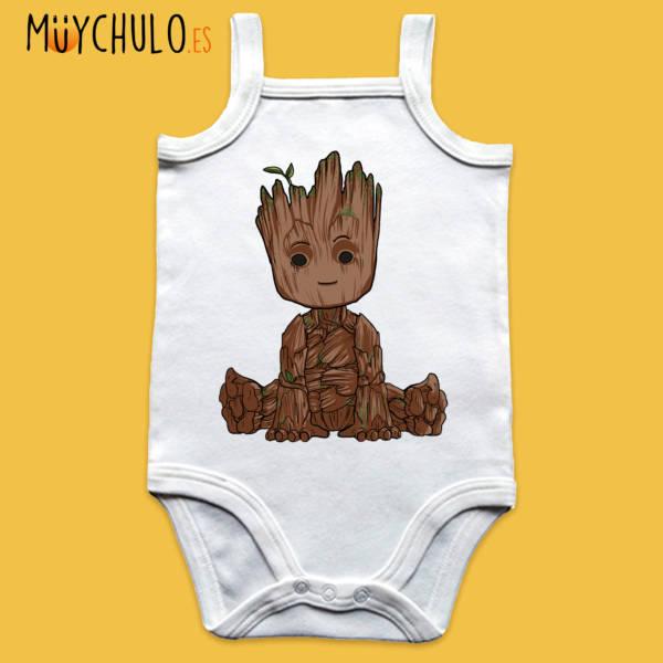 Body de tirantes mini Groot