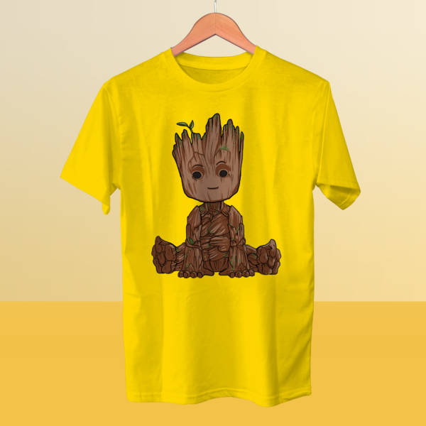Camiseta mini Groot