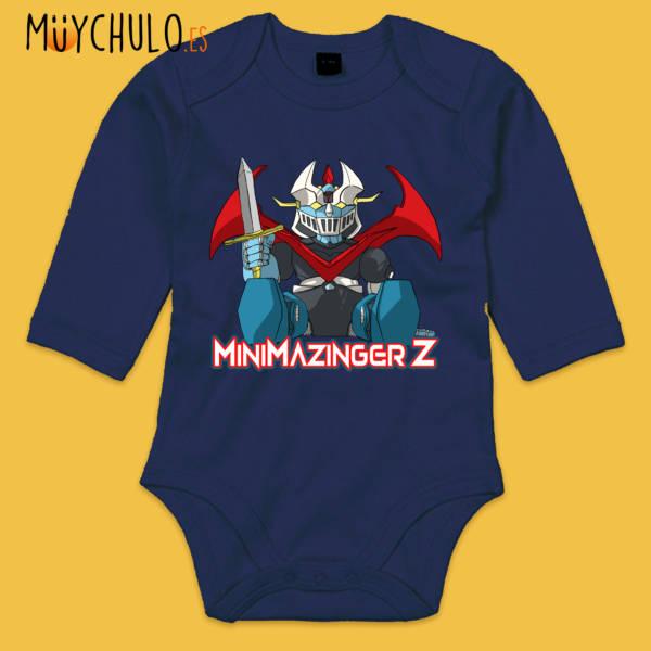Body manga larga mini Mazinger Z