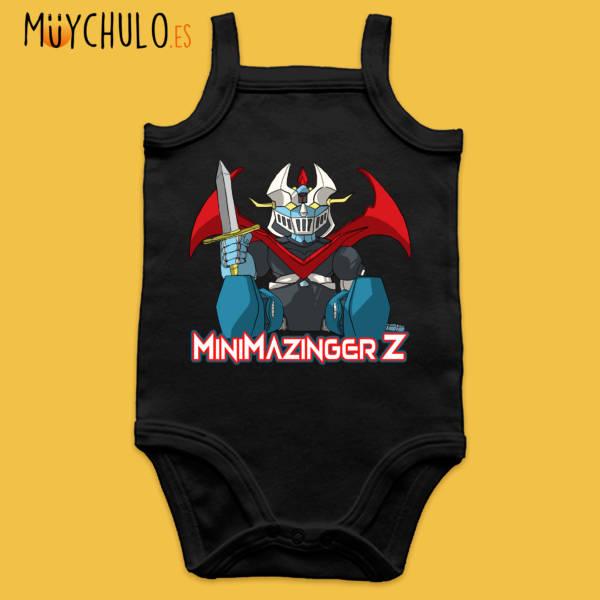 Body de tirantes mini Mazinger Z