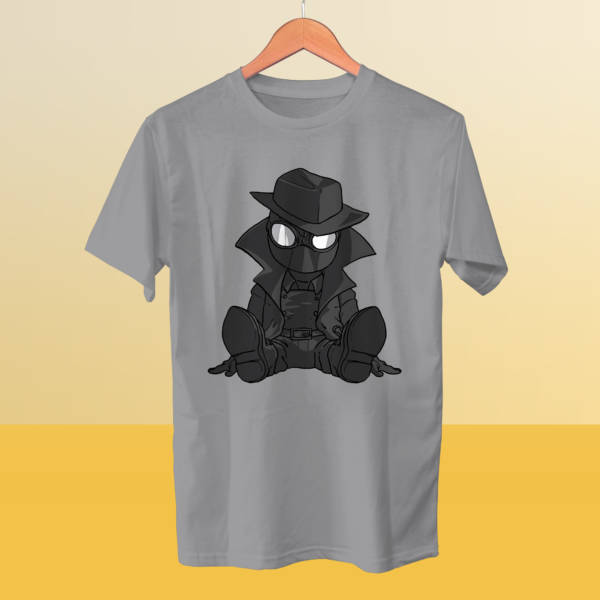 Camiseta mini Spiderman Noir