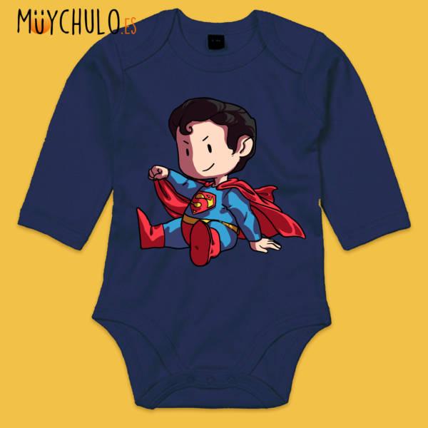 Body manga larga mini Superman
