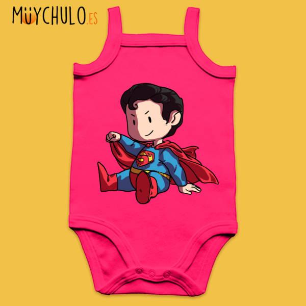 Body de tirantes mini Superman