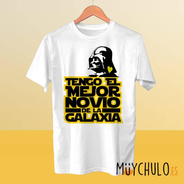 Camiseta Tengo el mejor novio de la galaxia