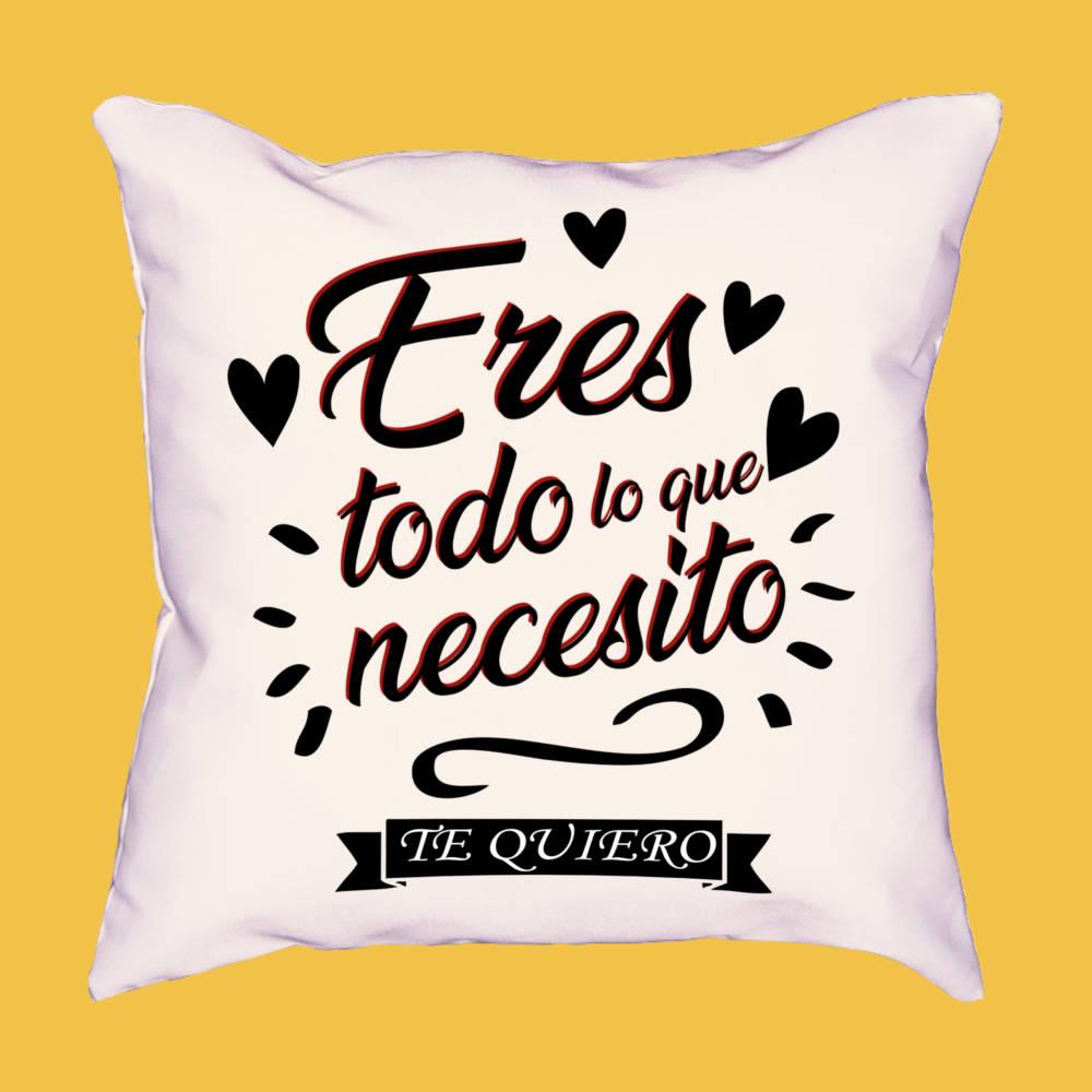 Cojín Eres todo lo que necesito
