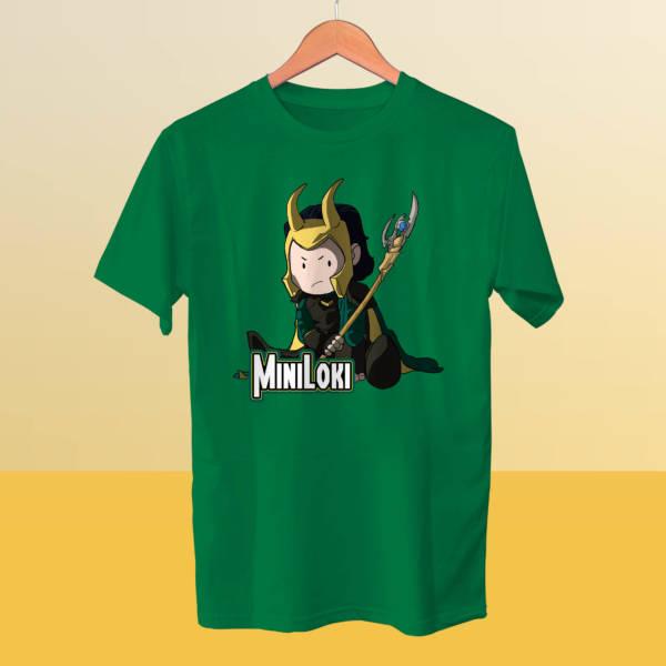 Camiseta miniLoki