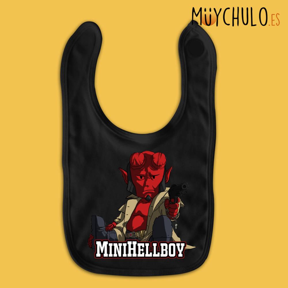 Babero miniHellboy