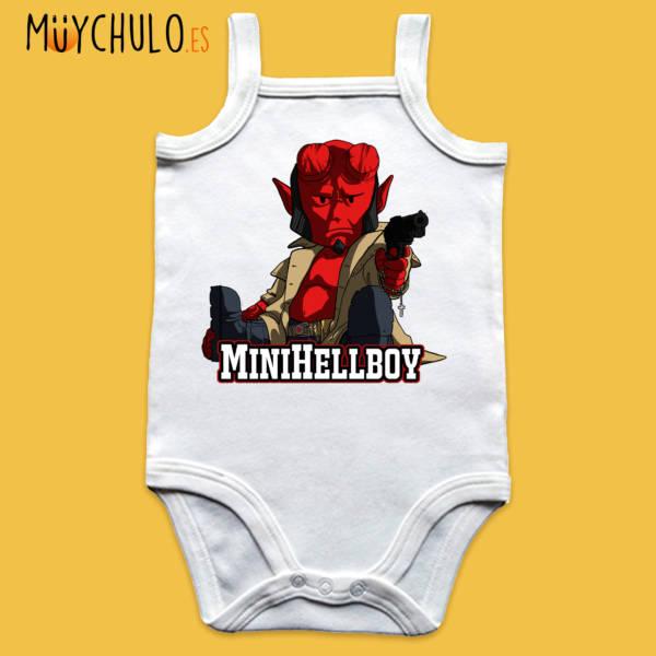 Body de tirantes miniHellboy