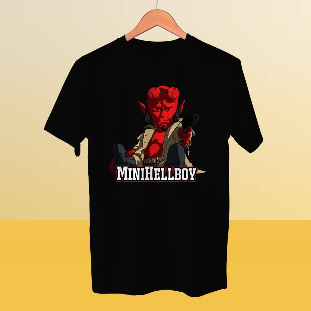 Camiseta miniHellboy