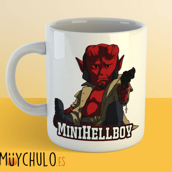 Taza miniHellboy