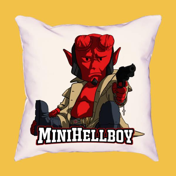 Cojín miniHellboy