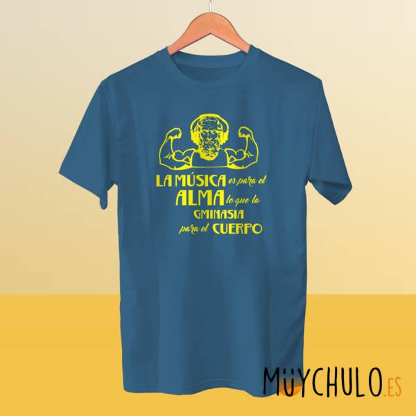 Camiseta La música, el alma y Platón