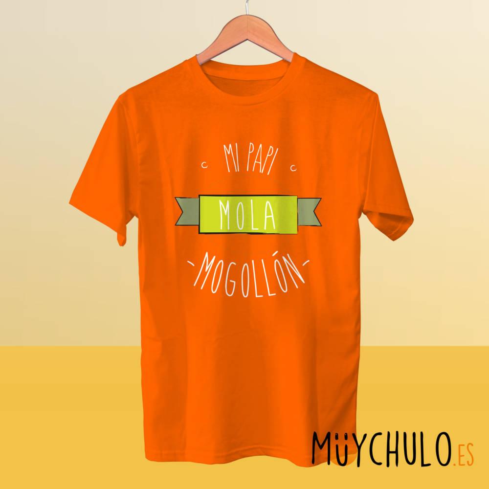 Camiseta mi papi mola mogollón