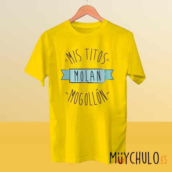 Camiseta mis titos molan mogollón