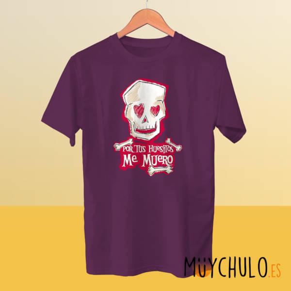 Camiseta Por tus huesitos me muero