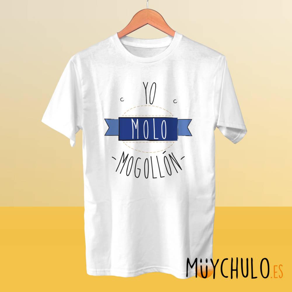 Camiseta yo molo mogollón