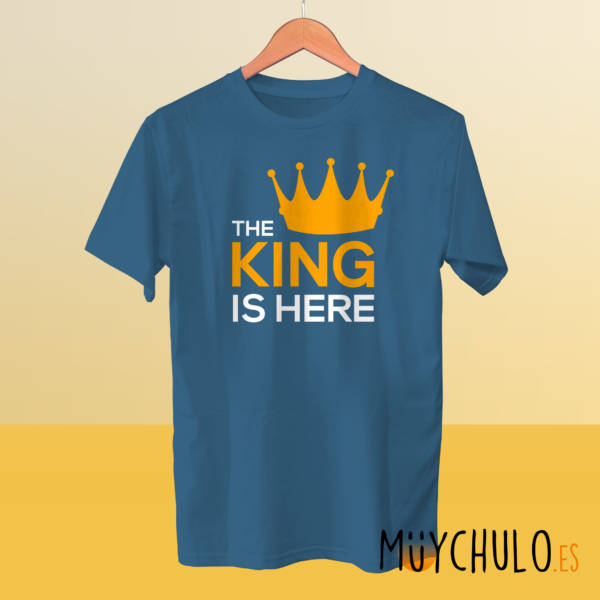 Camiseta manga corta The King is Here