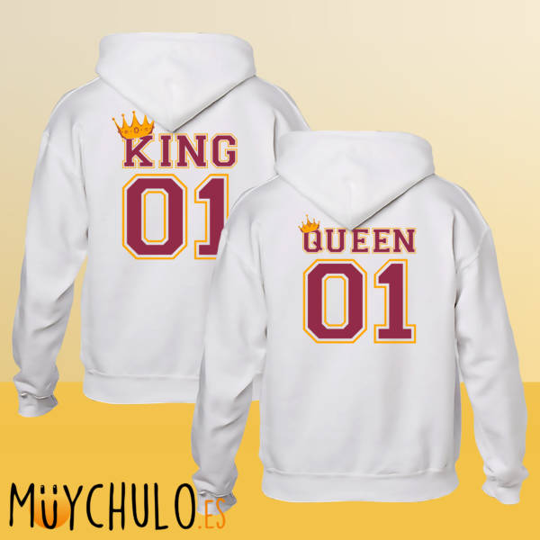 Sudaderas KING & QUEEN