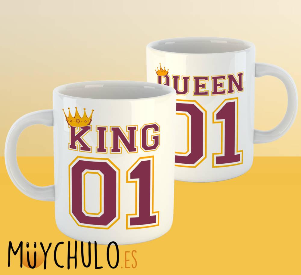 Tazas KING & QUEEN