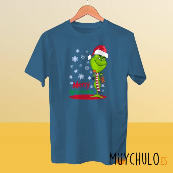 Camiseta manga corta Merry GRINCHmas