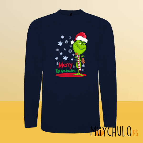 Camiseta manga larga Merry GRINCHmas