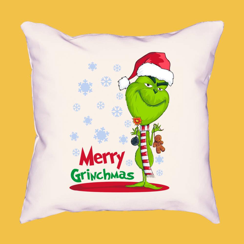 Cojín Merry GRINCHmas