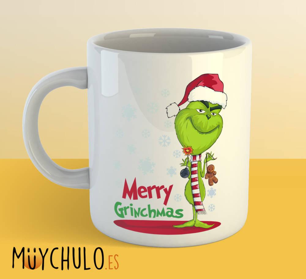 Taza Merry GRINCHmas