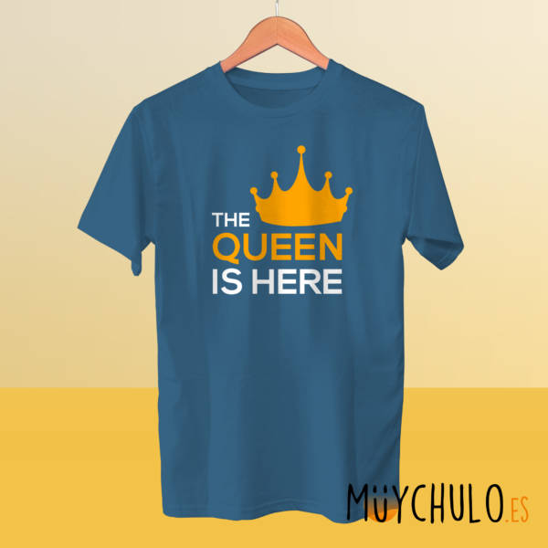 Camiseta manga corta The Queen is Here